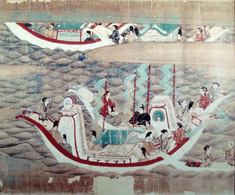 白村江の戦いをわかりやすく解説!遣唐使が人質になるという衝撃的な戦いだった!